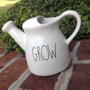 "Rae Dunn ""GROW"" watering can"